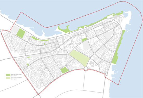 Salmiya District Masterplan Kuwait