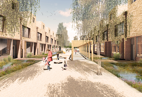 Plans for Canalside Housing in Woking approved