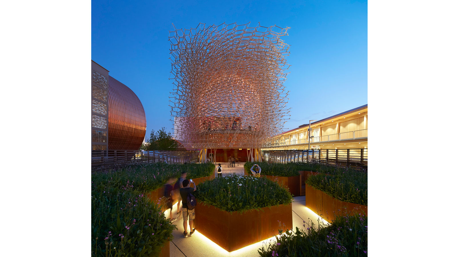 Best Stands Expo Milan : Uk pavilion milan expo bdp