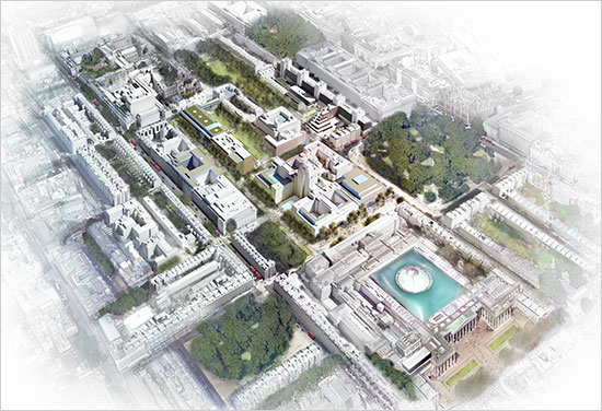 University of London masterplan