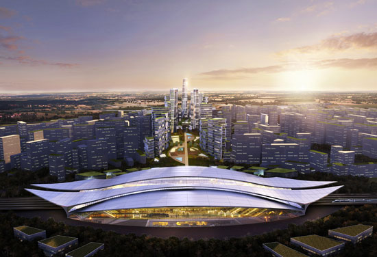 Yangzhou Ecological and Technological New City Masterplan