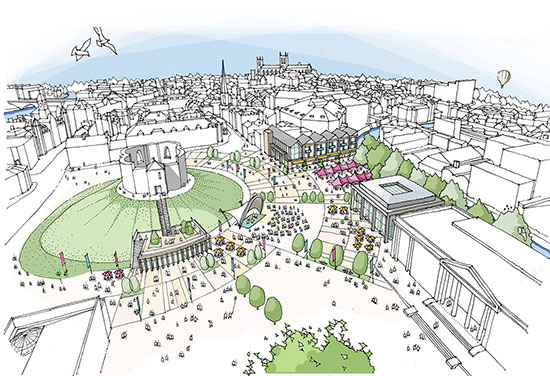 York Castle Gateway Masterplan Revealed