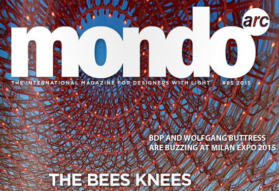 UK Pavilion, Milan Expo on the cover of Mondo